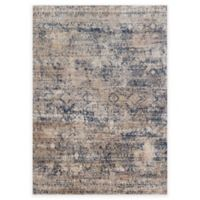 Loloi Rugs Anastasia Canvas 5-Foot 3-Inch Round Area Rug in Blue