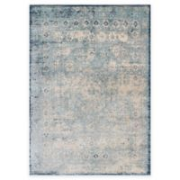Loloi Rugs Anastasia Challis 9-Foot 6-Inch Round Area Rug in Blue/Ivory