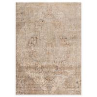 Loloi Rugs Anastasia Crystal 5-Foot 3-Inch Round Area Rug in Beige