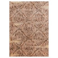 Loloi Rugs Anastasia Damask 6-Foot 7-Inch x 9-Foot 2-Inch Area Rug in Tobacco