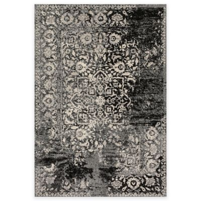 Loloi Rugs Emory Distressed Damask 3 Foot 8 Inch X 5 6