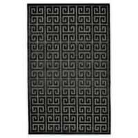 Feizy Tahla II 5-Foot x 7-Foot 6-Inch Area Rug in Black/Charcoal