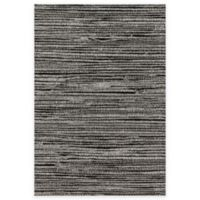 Loloi Rugs Emery Lines 2-Foot 5-Inch x 7-Foot 7-Inch Runner in Grey/Black