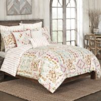 Rio Grande Twin Duvet Cover Set in Brown