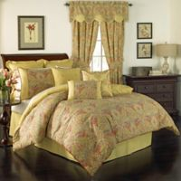 Waverly® Swept Away Reversible Queen Comforter Set in Berry