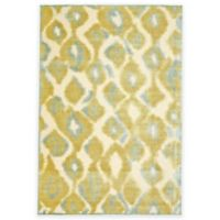 Feizy Marin 2-Foot 2-Inch x 4-Foot Accent Rug in Cream/Sage