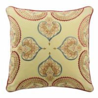 Waverly® Swept Away Reversible 18-Inch Throw Pillow in Berry