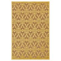 Feizy Tahla I 2-Foot 1-Inch x 4-Foot Accent Rug in Tan/Yellow