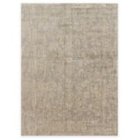 Loloi Rugs Florence Damask Border 5-Foot 3-Inch x 7-Foot 8-Inch Area Rug in Stone/Ivory