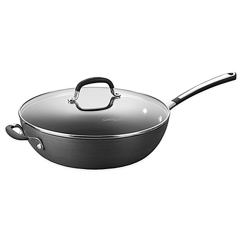 Calphalon cookware sets are the perfect gift to give, put on your registry, or even have for yourself. There are a variation of pots and pans that come in the set. If you want to know exactly what's included, be sure to click on the set you want, and then scroll down the description box.