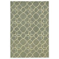 Nourison Contour Tile 3-Foot 6-Inch x 5-Foot 6-Inch Area Rug in