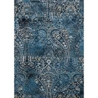Loloi Rugs Torrance Paisley 3-Foot 9-Inch x 5-Foot 9-Inch Area Rug in Navy/Blue