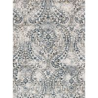 Loloi Rugs Torrance Paisley 3-Foot 9-Inch x 5-Foot 9-Inch Area Rug in Ivory/Blue