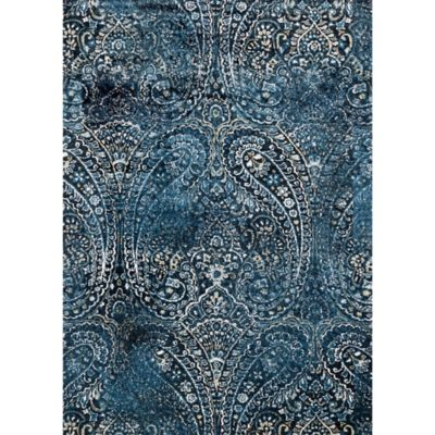Buy Navy Blue Area Rugs From Bed Bath Amp Beyond