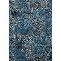 Loloi Rugs Torrance Paisley 6-Foot 7-Inch x 9-Foot 2-Inch Area Rug in Navy/Blue