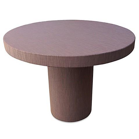 Somers Furniture Sunny California 42 Inch Round Pub Table In Platinum