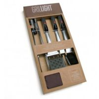 Grillight 4-Piece BBQ Tool Gift Set