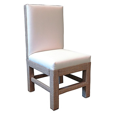 Somers Furniture Santa Barbara Outdoor Dining Chair In White