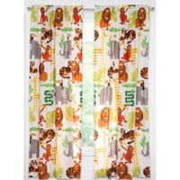 Crayola® Jungle Love 84-Inch Rod Pocket Window Curtain Panel