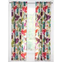 Crayola® Owl Always Love You 84-Inch Rod Pocket Window Curtain Panel in Purple/Pink