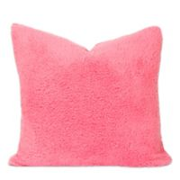 Crayola® Playful Plush 20-Inch Square Throw Pillow in Pink