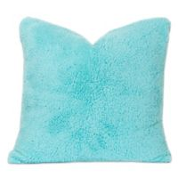 Crayola® Playful Plush 16-Inch Square Throw Pillow in Teal
