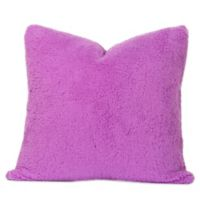Crayola® Playful Plush 20-Inch Square Throw Pillow in Purple