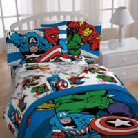 "Marvel® Comics ""Good Guys"" Twin Sheet Set"