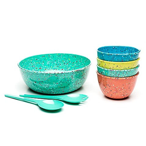 Zak! Designs® Confetti Bowl Collection in Tropical