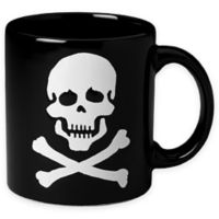 Konitz Skull Mugs in Black (Set of 4)