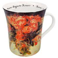 Konitz Renoir Les Fleurs Chez Les Peintres Mugs (Set of 4)