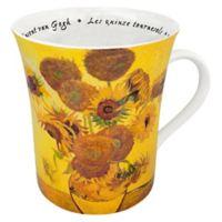 Konitz Van Gogh Les Fleurs Chez Les Peintres Mugs (Set of 4)