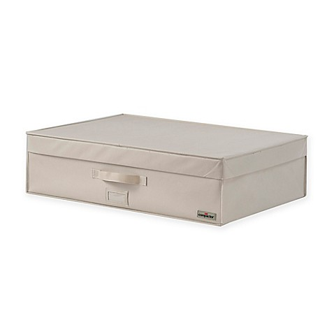 Extra Extra Large Vacuum Bag Storage Trunk in Beige