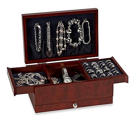 Lori Greiner® Petite Safekeeper® Jewelry Box in Rosewood ...
