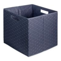 b+in® Blossom Fabric Full Storage Bin in Blue