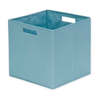 Charmant B+in® Nile Blue Fabric Full Storage Bin In Nile Blue