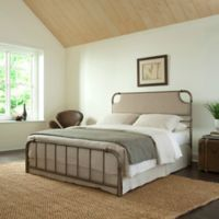 Fashion Bed Group Dahlia Complete Full Bed in Aged Iron