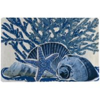 Park B. Smith® Starfish Collage Tapestry Placemat in Indigo (Set of 4)