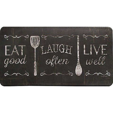 Home Dynamix Bloomfield 20 Inch X 39 Inch Eat Laugh Love