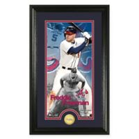MLB Freddie Freeman Supreme Bronze Coin Photo Mint