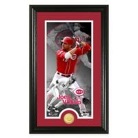 MLB Joey Votto Supreme Bronze Coin Photo Mint