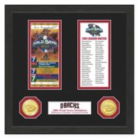 MLB Arizona Diamondbacks World Series Ticket Collection