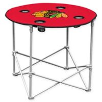NHL Chicago Blackhawks Round Collapsible Table