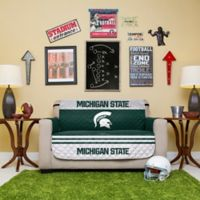 Michigan State University Loveseat Cover