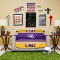 Louisiana State University Loveseat Cover