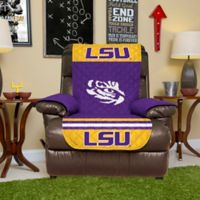 Louisiana State University Recliner Cover