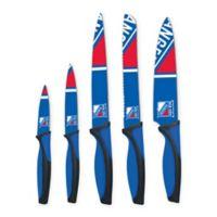 NHL New York Rangers 5-Piece Stainless Steel Cutlery Set