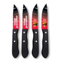 NHL Chicago Blackhawks 4-Piece Stainless Steel Steak Knife Set