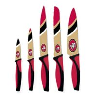 NFL San Francisco 49ers 5-Piece Stainless Steel Knife Set