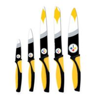 NFL Pittsburgh Steelers 5-Piece Stainless Steel Knife Set